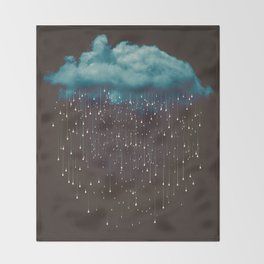 Let It Fall Throw Blanket