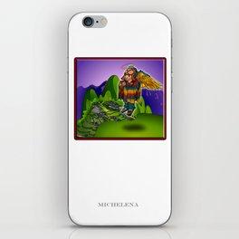 Angel de Machu Picchu iPhone Skin