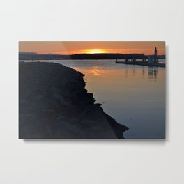 Everett Sunset Metal Print