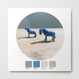Today's color chart day 21 Metal Print