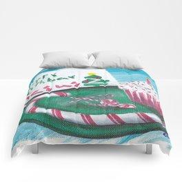 Happy Birthday Jesus Christmas Card Comforters