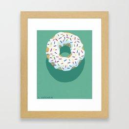 A Chance of Sprinkles Framed Art Print