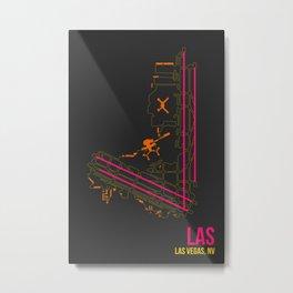 LAS Metal Print