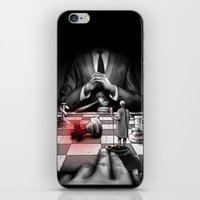 politics iPhone & iPod Skins featuring Medicine+Politics by Cleev