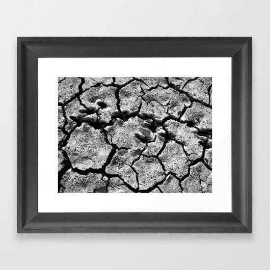 TRACKS II Framed Art Print