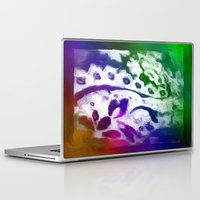 lace Laptop & iPad Skins featuring Lace by Geni