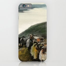 Sheeps iPhone Case