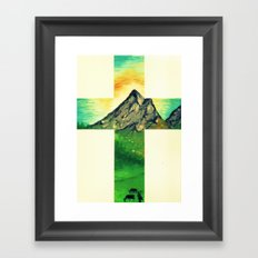 Through His Eyes Framed Art Print