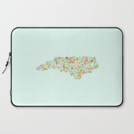 North Carolina Florals Laptop Sleeve