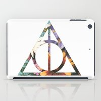 deathly hallows iPad Cases featuring Deathly Hallows by Romana Catalini