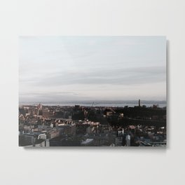 The Athens of the North Metal Print