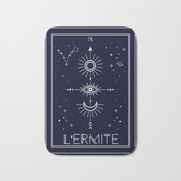 The Hermite or L'Ermite Tarot Bath Mat