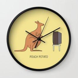 Pouch potato Wall Clock