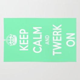 Keep Calm & Twerk On. Rug