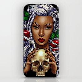 Snow White (black background) iPhone Skin