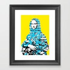Mona Lisa Platina 3 Framed Art Print