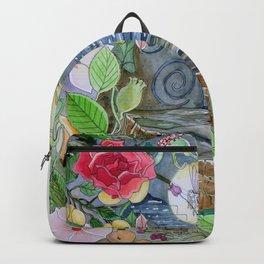 Vibrant Fairy Hideaway Backpack