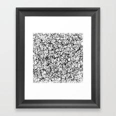 are you nervous? Framed Art Print