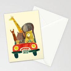 Visit the zoo Stationery Cards
