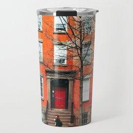Brooklyn in the Springtime Travel Mug