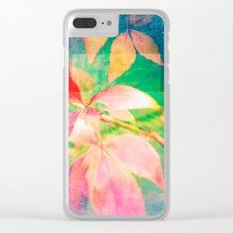 Autumn Pastels 01 Clear iPhone Case