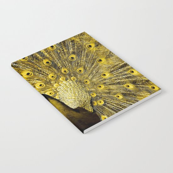 yellow art Notebook