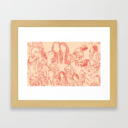 Lost Friends Framed Art Print