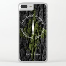 Look to the east Clear iPhone Case