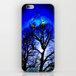 Our World Is A Magic - Moments sunset iPhone Skin