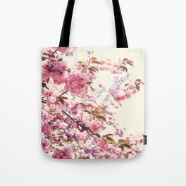Cherry blossoms world Tote Bag