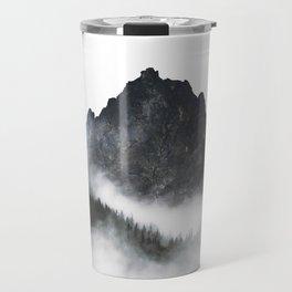 Alaskan Sawtooth Mountain Range Travel Mug