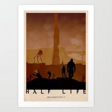 Half Life Art Print