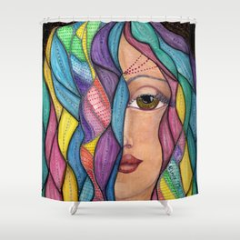 Hair Dayz - Regal Shower Curtain
