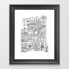The Neighborhood Framed Art Print