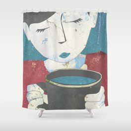 Morning Elixir Shower Curtain