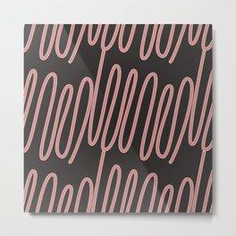 Dot lines Metal Print