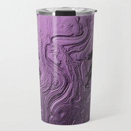 Super purple glam lashes Travel Mug