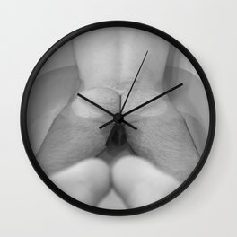 Man in Bathtub Wall Clock