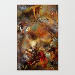 Melody for an unfinished dream Canvas Print