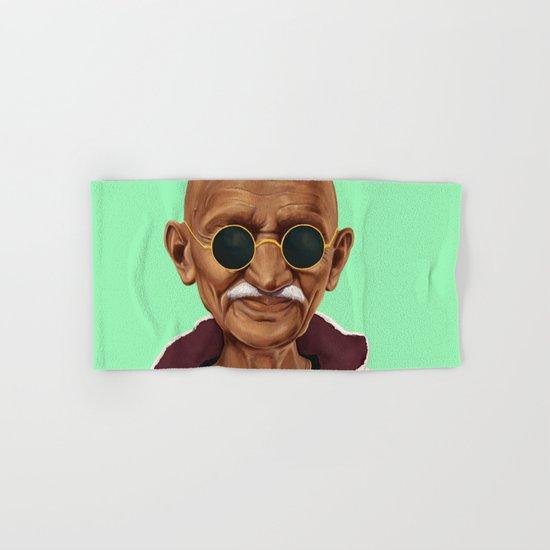 Hipstory -  mahatma gandhi Hand & Bath Towel