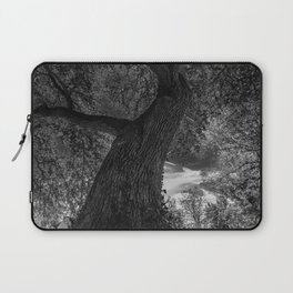 Crooked Oak (black and white) Laptop Sleeve