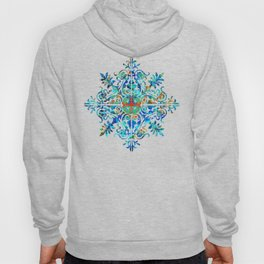 Colorful Pattern Art - Color Fusion Design 5 By Sharon Cummings Hoody
