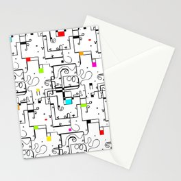 Piet Mondrian Stationery Cards