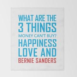 Bernie Sanders 2020 Slogan Throw Blanket