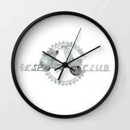 Vespa Club Manchester UK Wall Clock