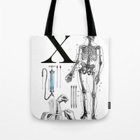 et Tote Bags featuring ET-Wolverine by Greg-guillemin