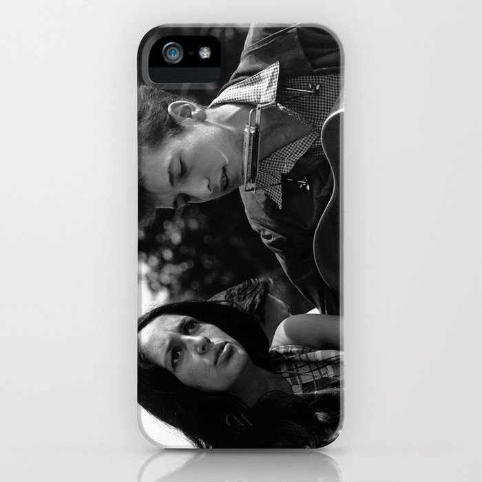 Bob Dylan and Joan Baez at the March on Washington, 1963 iPhone Case