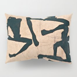 Egon Schiele  -  Composition With Three Male Nudes Pillow Sham