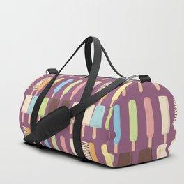 candy popsicles purple Duffle Bag