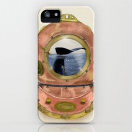 gone diving iPhone Case